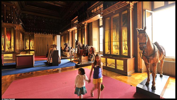 Armeria Reale. Immagine appartenente al progetto fotografico Vita da Museo di Marco Saroldi.