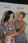 Laiani Perry poses with Soledad O'Brien at Soledad O'Brien and Brad Raymond Starfish Foundation presents New Orleans to New York City 2014 Gala on July 24, 2014 at Espace, New York City for VIP Cocktail Reception, dinner, entertainment with Grammy Award winning Trumpeteer Irvin Mayfield (also Board president) and the New Orleans Jazz Orchestra. (Photo by Sue Coflin/Max Photos)