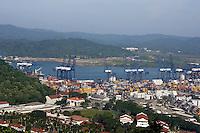 August 02, 2009.  Panama City Blaboa Ports (Puerto de Balboa).