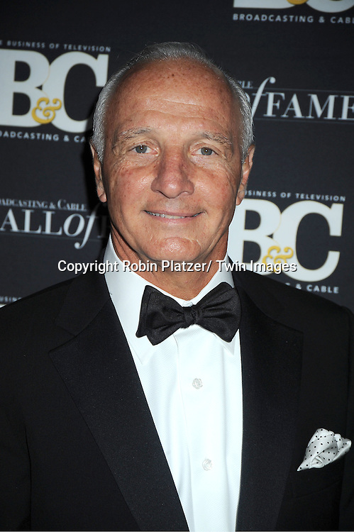honoree Joe Abruzzese attends the 2011 Broadcasting & Cable Hall of Fame Awards on October 26, 2011 at the Waldorf Astoria Hotel in New York City.