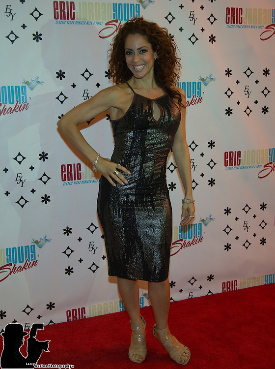 """Oct 20 2014: Red Carpet Eric Jordan Young """"Trend the Night Away"""" in the Sin City Theater"""