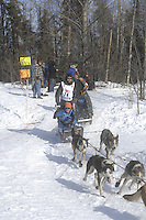 William Hanes Anchorage Start Iditarod 2008.
