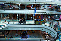 LISBON, PORTUGAL JUNE 15: People visit the Vasco Da Gama Mall in Lisbon, on June 15, 2020. A delay on the planned reopening of malls in the Lisbon region has been reported after recording new clusters of the coronavirus outbreak. (Photo by Luis Boza/VIEWpress)