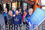 BEARD FEST: Getting ready for the Ballyheigue Beard Festival taking place on November 30th. Pictured were: Eimear O'Mahony, Gavin O'Connor and Michael Lane. Back l-r were: Eoghan Casey, JOhn McDonnell, Niall O'Hanlon, Vanessa Casey and Kevin O'Mahony.