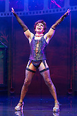 London, UK. 15 September 2015. David Bedella as Frank'n'furter. The Rocky Horror Show, written and starring Richard O'Brien, returns to the West End for a limited run at the Playhouse theatre from 11 September 2015. The Rocky Horror Show Gala Performance on 17 September will be broadcast live to cinemas across the UK and Europe. With Richard O'Brien as Narrator, David Bedella as Frank'n'furter, Ben Forster as Brad, Haley Flaherty as Janet and Dominic Andersen as Rocky. Photo: Bettina Strenske