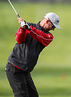 Pieter Zwart during the Charles Tour Augusta Funds Management Ngamotu Classic, Ngamotu Golf Course, New Plymouth, New Zealand, Thursday 12 October 2017.  Photo: Simon Watts/www.bwmedia.co.nz