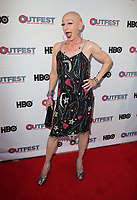 "LOS ANGELES, CA-  Constance Cooper, At 2017 Outfest Los Angeles LGBT Film Festival - Closing Night Gala Screening Of ""Freak Show"" at The Theatre at Ace Hotel, California on July 16, 2017. Credit: Faye Sadou/MediaPunch"