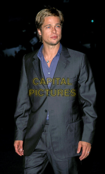 "BRAD PITT.""Snatch"" Film Premiere.Ref: 9944.half length, half-length.*RAW SCAN - photo will be adjusted for publication*.www.capitalpictures.com.sales@capitalpictures.com.© Capital Pictures"