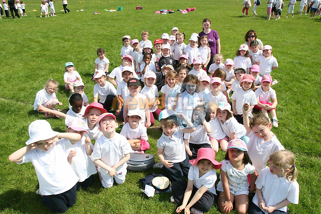 Junior Infants at Donacarney Girls NS Sports Day at Pilltown Club House...Photo NEWSFILE/Jenny Matthews.(Photo credit should read Jenny Matthews/NEWSFILE)....This Picture has been sent you under the condtions enclosed by:.Newsfile Ltd..The Studio,.Millmount Abbey,.Drogheda,.Co Meath..Ireland..Tel: +353(0)41-9871240.Fax: +353(0)41-9871260.GSM: +353(0)86-2500958.email: pictures@newsfile.ie.www.newsfile.ie.FTP: 193.120.102.198.