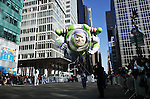 USA, NEW YORK, November 24, 2011.A Buzz Lightyear balloon floats in 6 avenue while American celebrated the Macy's Thanksgiving day parade in New York, November 24,2011. VIEWpress / Eduardo Munoz Alvarez..The Macy's parade is considered by many to be the official start of the holiday season. Balloons, bands and dignitaries trooped through midtown Manhattan Thursday morning for the 85th annual Macy's Thanksgiving Day Parade. Media Reported.