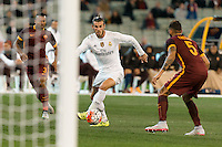 Melbourne, 18 July 2015 - Gareth Bale of Real Madrid controls the ball in game one of the International Champions Cup match at the Melbourne Cricket Ground, Australia. Roma def Real Madrid 7-6 Penalties. Photo Sydney Low/AsteriskImages.com