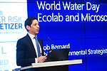 Ecolab World Water Day 3.22.17