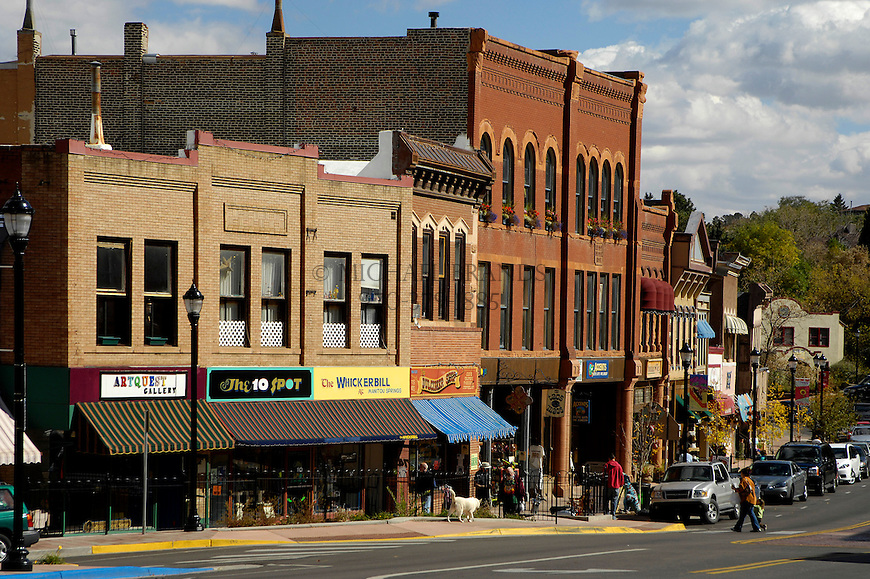 Downtown Manitou Springs, CO. Michael Brands for The New York Times.