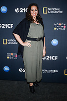 NEW YORK - APRIL 13: Hoda Hawa, Muslim Public Affairs Council attends National Geographic's special screening of AMERICA INSIDE OUT WITH KATIE COURIC in association with Women in the World on April 13, 2018 in New York City. AMERICA INSIDE OUT WITH KATIE COURIC, a new six-part documentary series, follows Couric as she travels the country to talk with the people bearing witness to the most complicated and consequential questions in American culture today. The weekly series airs globally on National Geographic, Wednesdays, 10/9c.(Photo by Anthony Behar/NatGeo/PictureGroup)