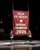 081010 - University of Wisconsin at Boston College (BC banner raising)