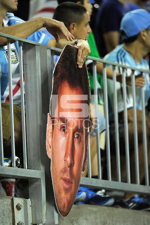 Action photo during the match United States vs Argentina, Corresponding to the Semifinals of the America Cup Centenary 2016 at NRG Stadium.<br /> <br /> Foto  de accion durante el partido Estados Unidos vs Argentina, Correspondiente a la Semifinal de la Copa America Centenario 2016, en el Estadio NRG, en la foto: Detalle de Lionel Messi<br /> <br /> <br /> 21/06/2016/MEXSPORT/PHOTOGAMMA/Javier Gonzalez.