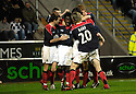 13/11/2006       Copyright Pic: James Stewart.File Name :sct_jspa10_falkirk_v_hearts.RUSSELL LATAPY CELEBRATES SCORING FALKIRK'S GOAL.James Stewart Photo Agency 19 Carronlea Drive, Falkirk. FK2 8DN      Vat Reg No. 607 6932 25.Office     : +44 (0)1324 570906     .Mobile   : +44 (0)7721 416997.Fax         : +44 (0)1324 570906.E-mail  :  jim@jspa.co.uk.If you require further information then contact Jim Stewart on any of the numbers above.........
