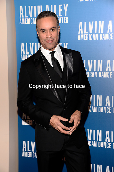 NEW YORK, NY - DECEMBER 04: Maurice DuBois pictured at Alvin Ailey's Opening Night Gala at New York City Center, on December 4, 2013 in New York City. Credit: RTNPluvious/MediaPunch Inc.<br />