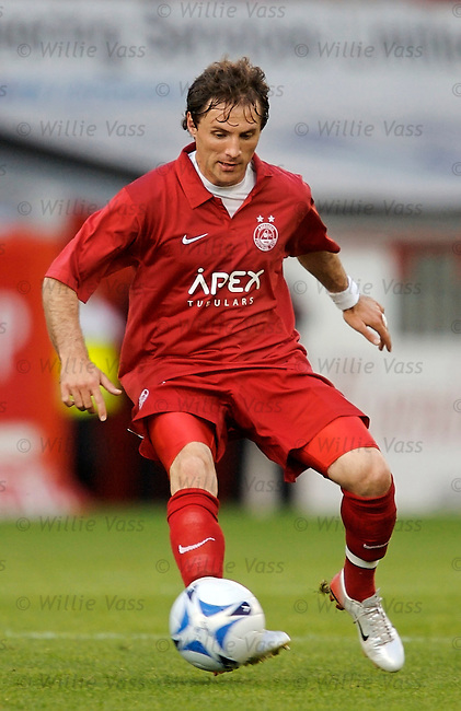 Jamie Smith, Aberdeen.stock season 2006-2007.pic willie vass
