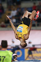 Gianmarco TAMBERI (ITA) High Jump Men performs in the back jump acrobatics<br /> Roma 06-06-2019 Stadio Olimpico, <br /> IAAF Diamond League Golden Gala<br /> Meeting Atletica Leggera <br /> Photo Cesare Purini / Insidefoto