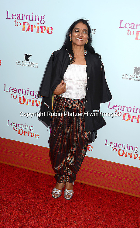 Rajika Puri attends the NewYork VIP Premiere of &quot;Learning to Drive&quot;<br /> on August 17, 2015 at The Paris Theatre in New York City, New York, USA. <br /> <br /> photo by Robin Platzer/Twin Images<br />  <br /> phone number 212-935-0770