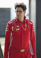 MATTIA BINOTTO during The Formula 1 2018 Rolex British Grand Prix at Silverstone Circuit, Northampton, England on 8 July 2018. Photo by Vince  Mignott.