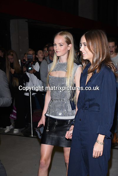 NON EXCLUSIVE PICTURE: MATRIXPICTURES.CO.UK<br /> PLEASE CREDIT ALL USES<br /> <br /> WORLD RIGHTS<br /> <br /> Swedish actress Alicia Vikander attending the Louis Vuitton Series 3 Exhibition launch party, in London. <br /> <br /> SEPTEMBER 20th 2015<br /> <br /> REF: SLI 152927