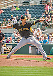 22 March 2015: Pittsburgh Pirates pitcher Charlie Morton on the mound during a Spring Training game against the Houston Astros at Osceola County Stadium in Kissimmee, Florida. The Astros defeated the Pirates 14-2 in Grapefruit League play. Mandatory Credit: Ed Wolfstein Photo *** RAW (NEF) Image File Available ***