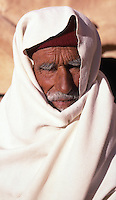 Tunisia. Old Man at Ksar Ouled Soltane