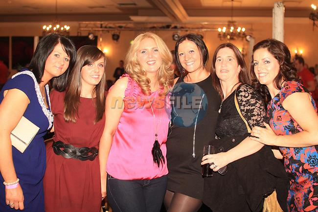 Sharon, Sam, Lorraine, Banban, Lucy and Amanda at the White Collar Boxing in the Westcourt Hotel..Picture: Shane Maguire / www.newsfile.ie