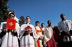 Bethlehem, the Latin Christmas ceremony at Manger  Square&#xA;<br />