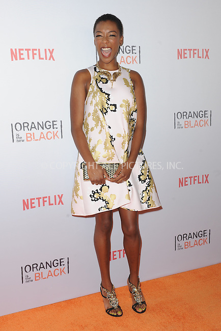 WWW.ACEPIXS.COM<br /> June 11, 2015 New York City<br /> <br /> Samira Wiley attending the 'Orangecon' Fan Event at Skylight Clarkson SQ on June 11, 2015 in New York City.<br /> <br /> Credit : Kristin Callahan/ACE Pictures<br /> Tel: (646) 769 0430<br /> e-mail: info@acepixs.com<br /> web: http://www.acepixs.com