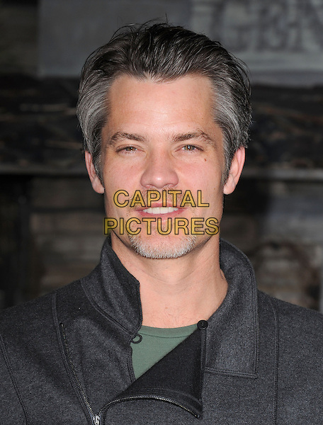 "TIMOTHY OLYPHANT .attends The Paramount Pictures' L.A. Premiere of ""Rango"" held at The Regency Village Theatre in Westwood, California, USA, February 14th 2011..portrait headshot black  grey gray goatee facial hair .CAP/RKE/DVS.©DVS/RockinExposures/Capital Pictures."