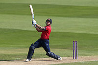 Matt Coles of Essex hits 6 runs during Essex Eagles vs Kent Spitfires, Royal London One-Day Cup Cricket at The Cloudfm County Ground on 6th June 2018
