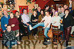 Ringing 2017: Ringing in the New Year at McCarthy's Bar, Finuge on Saturday night last.