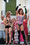 Inauguration of the gay pride festivities held MADO2012 in the Madrid district of Chueca. Some members of the gay and lesbian of Spain..(Alterphotos/Ricky)