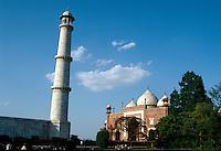 Indien, Agra (Uttar Pradesh), Fort erbaut 1565 von Akbar,Ostmoschee, Unesco-Weltkulturerbe