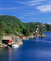 Norwegen, Vest Agder, Schaerengebiet zwischen Mandal und Kristiansand (Sonnenkueste) | Norway, Vest Agder, coastline between Mandal and Kristiansand (Sunhine Coast)