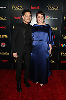 4 January 2019 - West Hollywood, California - Rami Malek, Olivia Colman. the 8th AACTA International Awards held at Skybar at Mondrian.        <br /> CAP/ADM/FS<br /> ©FS/ADM/Capital Pictures