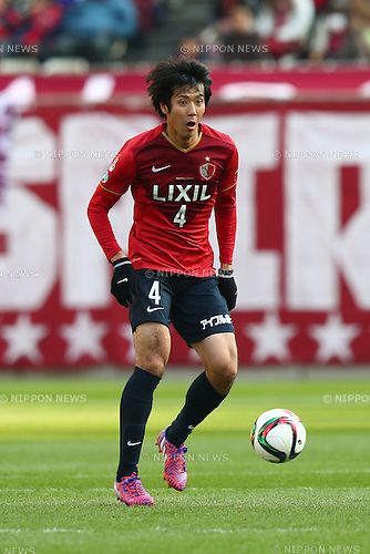 Kazuya Yamamura (Antlers),<br /> MARCH 14, 2015 - Football / Soccer : <br /> 2015 J1 League 1st stage match between<br /> Kashima Antlers 1-2 Shonan Bellmare<br /> at Kashima Soccer Stadium in Ibaraki, Japan.<br /> (Photo by Shingo Ito/AFLO SPORT)