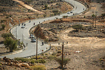 Fabien Grellier (FRA) Direct Energie from the breakaway finishes in 2nd place at the end of Stage 5 of the 10th Tour of Oman 2019, running 152km from Samayil to Jabal Al Akhdhar (Green Mountain), Oman. 20th February 2019.<br /> Picture: ASO/Kåre Dehlie Thorstad | Cyclefile<br /> All photos usage must carry mandatory copyright credit (© Cyclefile | ASO/Kåre Dehlie Thorstad)