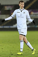 Pictured: Cameron Berry of Swansea. Tuesday 01 May 2018<br /> Re: Swansea U19 v Cardiff U19 FAW Youth Cup Final at the Liberty Stadium, Swansea, Wales, UK