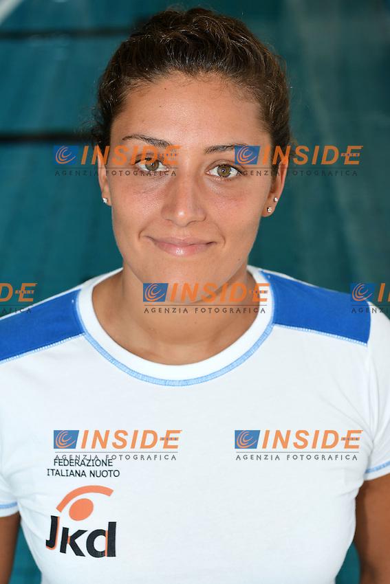 Rosaria Aiello.Pallanuoto Donne squadra Olimpica.Ostia ( Roma ) Centro Federale 22/6/2012.Foto Andrea Staccioli Insidefoto