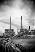 progress energy's coal-fired power plant at roxboro.
