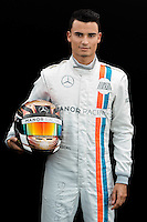 March 17, 2016: Pascal Wehrlein (GER) #94 from the Manor Racing at the drivers' portrait session prior to the 2016 Australian Formula One Grand Prix at Albert Park, Melbourne, Australia. Photo Sydney Low