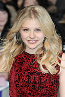 LONDON - MAY 09: Chloe Moretz attends the European Film Premiere of 'Dark Shadows' at the Empire Cinema, Leicester Square, London, UK. May 09, 2012. (Photo by Richard Goldschmidt)