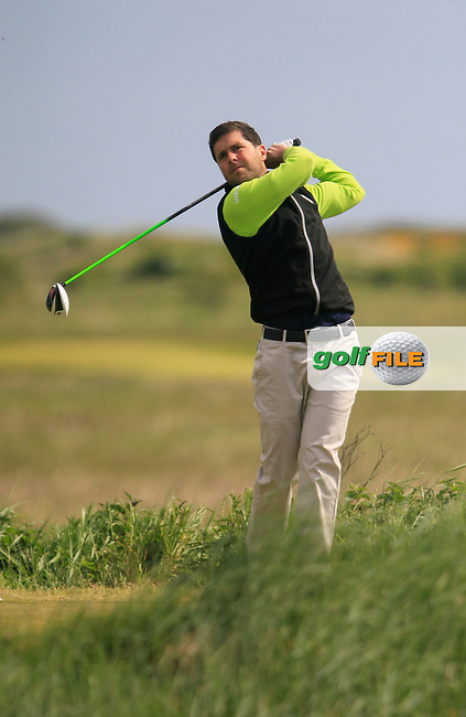 Matthew McAlpin (Royal Portrush)<br /> during the 2nd round of the East of Ireland Amateur Open Championship 2013 Co Louth Golf club 2/6/13<br /> Picture:  Thos Caffrey / www.golffile.ie