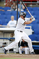 July 11, 2009:  Sean Shoffit of the Dunedin Blue Jays at bat during a game at Dunedin Stadium in Dunedin, FL.  Dunedin is the Florida State League High-A affiliate of the Toronto Blue Jays.  Photo By Mike Janes/Four Seam Images