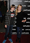"""HOLLYWOOD, CA - MARCH 03: Spencer List and Peyton List  attend the Los Angeles special screening of """"Limitless"""" at ArcLight Cinemas Cinerama Dome on March 3, 2011 in Hollywood, California."""