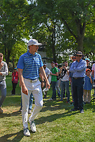 Jordan Spieth (USA) makes his way to the 17th tee where he would play holes 17 and 18 LPGA player Lorena Ochoa (MEX) during the preview of the World Golf Championships, Mexico, Club De Golf Chapultepec, Mexico City, Mexico. 2/28/2018.<br /> Picture: Golffile | Ken Murray<br /> <br /> <br /> All photo usage must carry mandatory copyright credit (&copy; Golffile | Ken Murray)